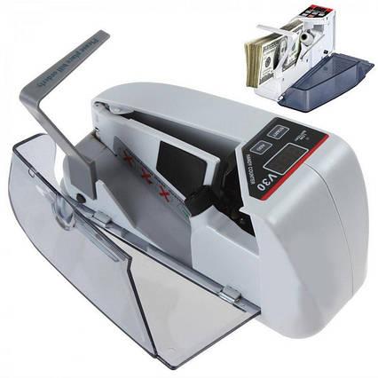 Рахункова ручна машинка UKC V30 (працює від мережі і від батарейок), фото 2