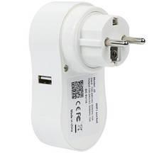 Розумна розетка c Wi-fi управлінням Socket J2, фото 2