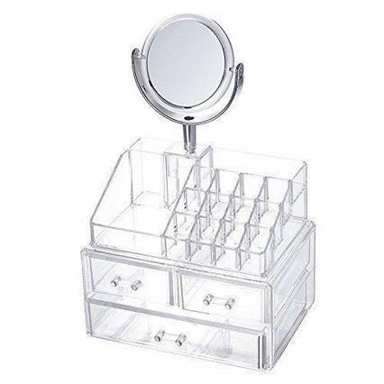 Настільний ящик органайзер для зберігання косметики UKC Storage Box JN-870, фото 2