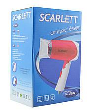 Компактний фен (Дорожній) Scarlett SC-8804 1000W, фото 3