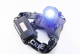 Налобный фонарик BL POLICE 2188 50000W T6, фото 3