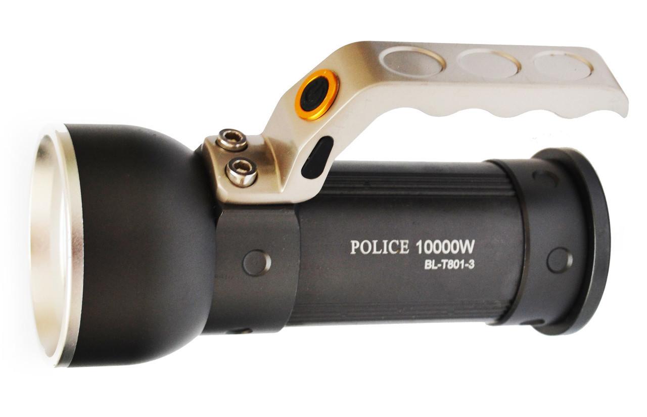 Фонарь прожектор Police T801-3