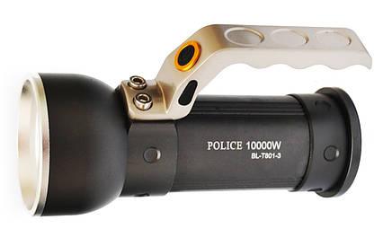 Фонарь прожектор Police T801-3, фото 2