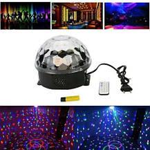 Світломузика диско куля Magic Ball Music MP3 плеєр з bluetooth XXB 01/M6, фото 3
