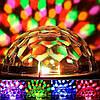 Світломузика диско куля Magic Ball Music MP3 плеєр з bluetooth XXB 01/M6, фото 2