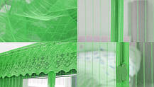 Москітна сітка на магнітах на двері Magic Mesh зелена, фото 3