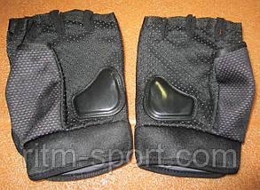 Велоперчатки MONSTER ( с защитой), фото 2