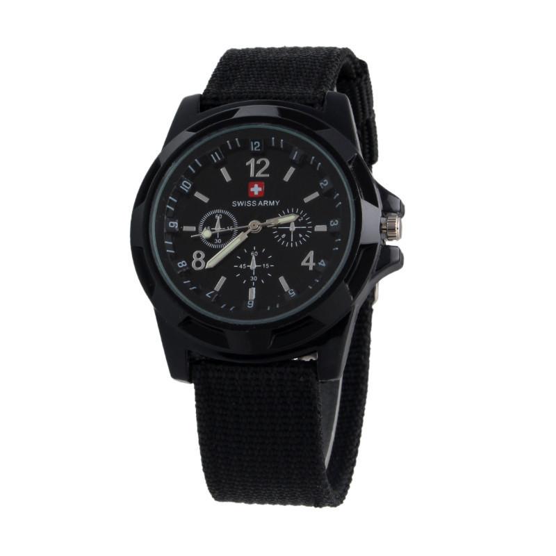 Чоловічі годинники Swiss Army Чорний