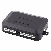 Парктронік автомобільний на 4 датчика +LCD, чорні датчики, фото 2