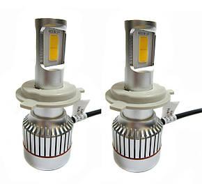 Светодиодные лампы UKC Car Led Headlight H4 33W 3000LM 4500-5000K, фото 2