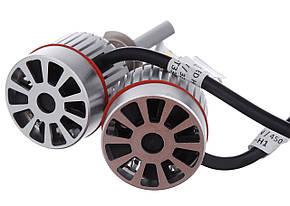 Світлодіодні лампи UKC Car Led Headlight H4 33W 3000LM 4500-5000K, фото 2