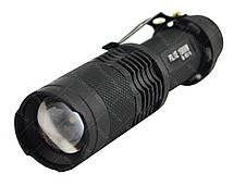Тактический ручной фонарик POLICE BL 1812 T6, фото 2