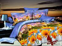 ✅ Полуторный комплект постельного белья с 3D(3Д) эффектом (Полисатин) TAG PS-BL075