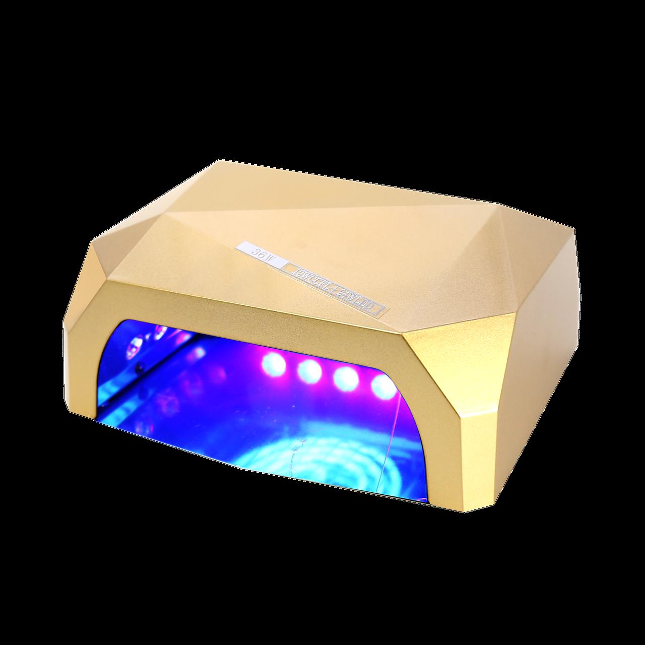 Гібридна ультрафіолетова CCFL+LED лампа 36W UKC Gold