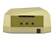 Гібридна ультрафіолетова CCFL+LED лампа 36W UKC Gold, фото 3