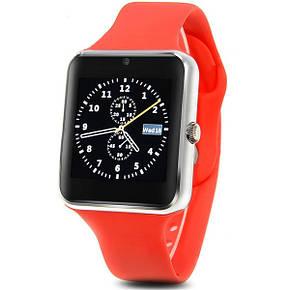 Смарт-годинник SmartWatch Q7s світло-червоний, фото 2