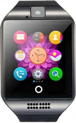 Розумні годинник UWatch Q18 Black, фото 2