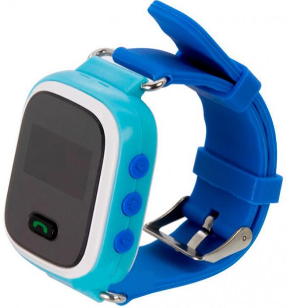 Детские умные GPS часы UWatch Q60 голубой