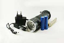 Фонарь прожектор T801 99000W с зуммом фонарик, фото 3