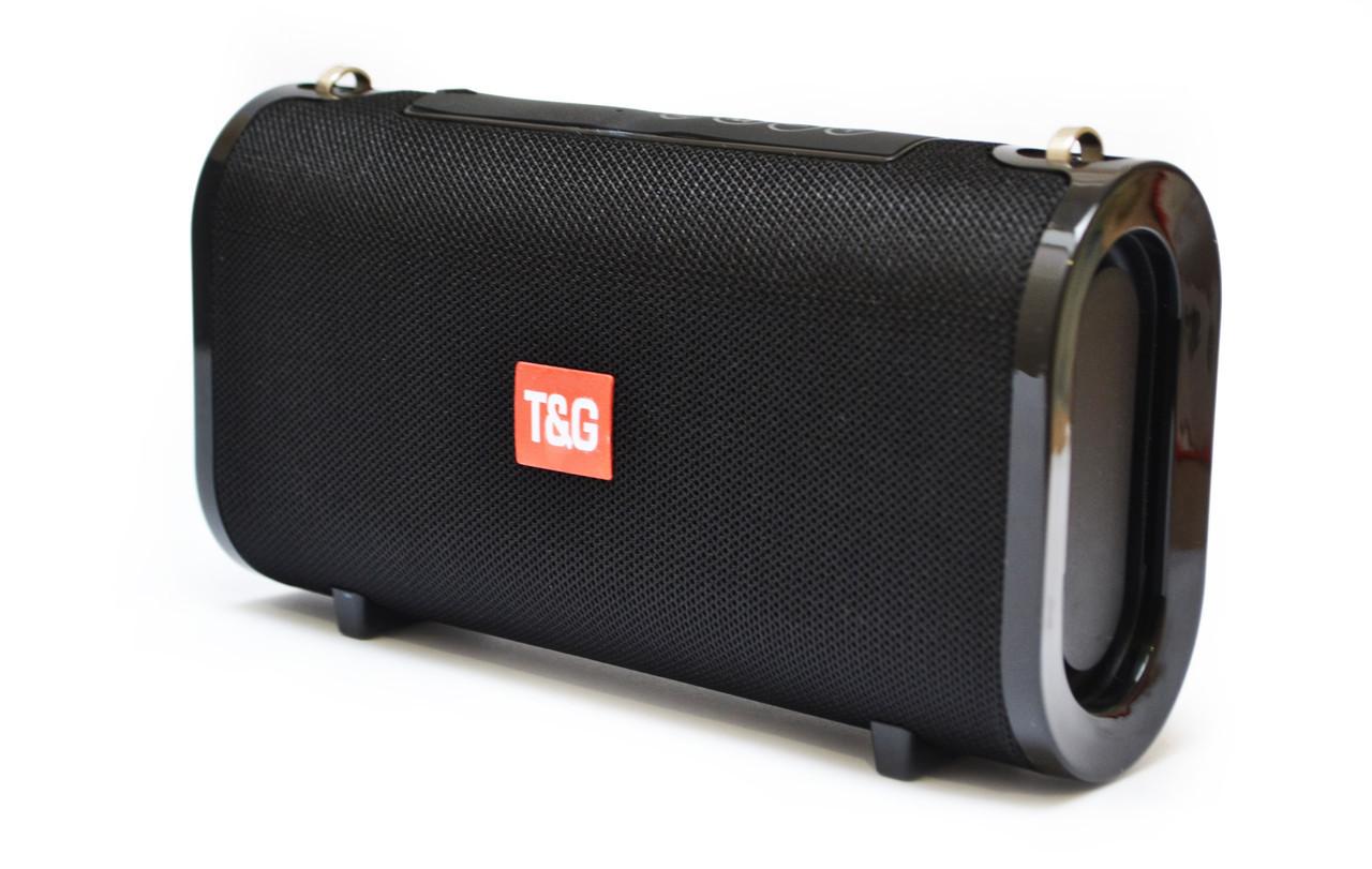 Портативна bluetooth колонка вологостійка T&G 123 Чорна