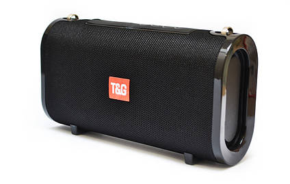 Портативна bluetooth колонка вологостійка T&G 123 Чорна, фото 2