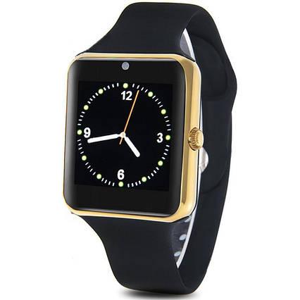 Смарт-годинник UWatch Q7s золотий, фото 2