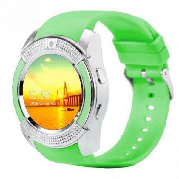 Смарт-годинник Smart Watch V8 Green