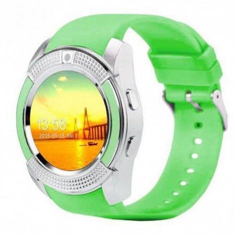 Смарт-годинник Smart Watch V8 Green, фото 2