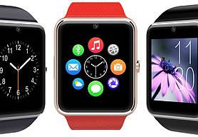 Умные часы телефон Smart Watch GT08 Red, фото 3