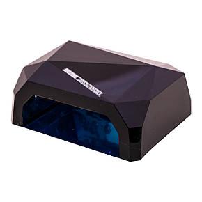 Гібридна CCFL+LED лампа 36W Quick CCFL LED Nail Lamp Чорний, фото 2