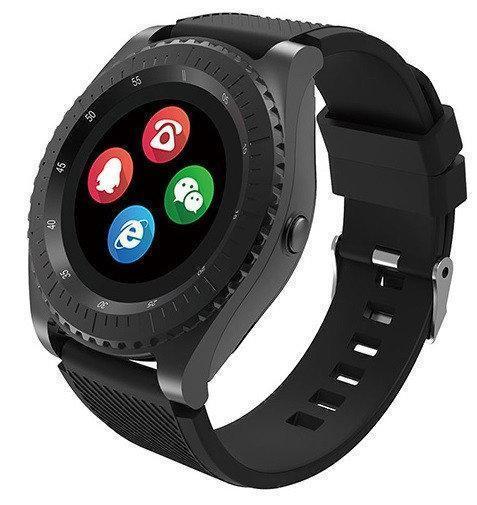 Умные часы UWatch Z3 со съемным ремешком Black