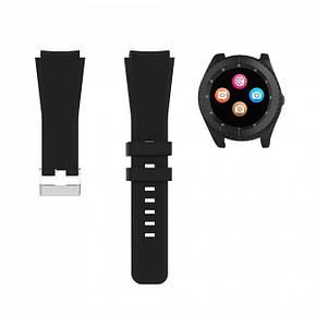 Розумні годинник UWatch Z3 зі знімним ремінцем Black, фото 2
