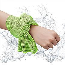 Охлаждающее полотенце для спорта и от жары GOOLING TOWEL, фото 2