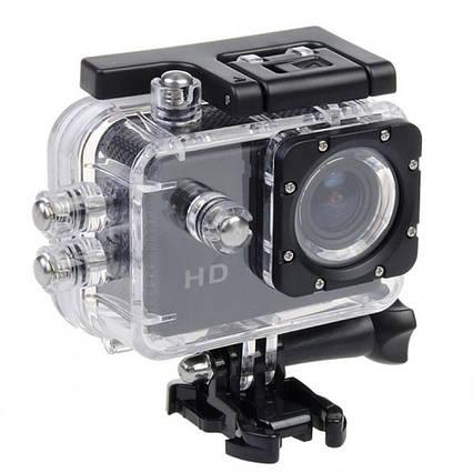 Водонепроницаемая спортивная экшн камера SJ4000 A7 Black, фото 2