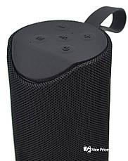 Портативная bluetooth колонка влагостойкая TG-113 черный, фото 3