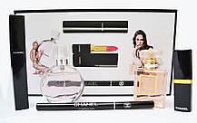 Подарочный набор Chanel парфюм + косметика 5в1 (реплика), фото 2
