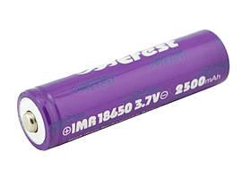 Высокотоковый аккумулятор батарея Efest 18650 2500 mAh 3,7V 35a