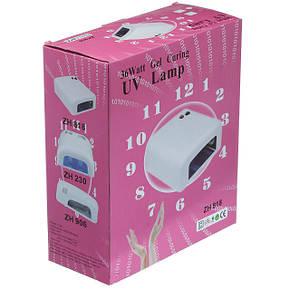 Ультрафиолетовая лампа для ногтей 36Вт K818 фиолетовый, фото 2