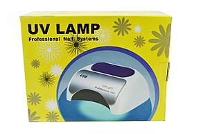 Гібридна CCFL+LED лампа UKC 48W K18 Малиновий, фото 2
