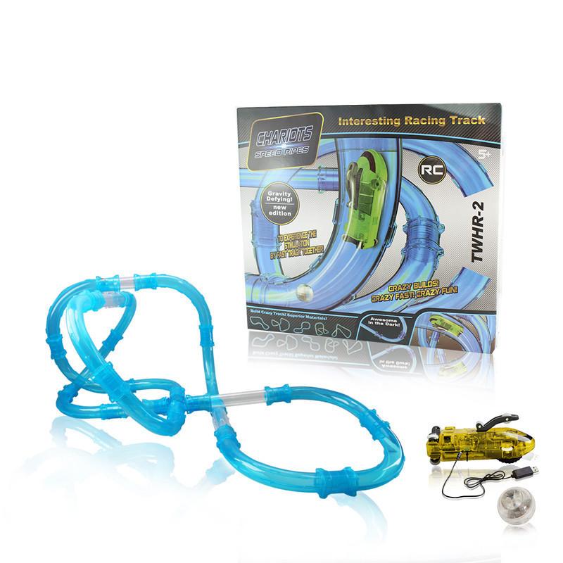 Ігровий набір CHARIOTS Speed Pipes гоночний трек по водопровідних трубах на р/у 37 деталей
