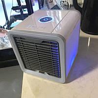✅ Мобильный мини кондиционер Arctic Air USB переносной компактный портативный охладитель очиститель увлажнитель фильтратор воздуха 4 в 1 LED