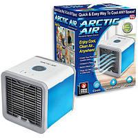 ✅ Мини кондиционер Arctic Air USB переносной компактный портативный охладитель очиститель увлажнитель фильтратор воздуха 4 в 1 LED
