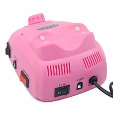Професійний фрезер Beauty Nail Master DM-208 Glazing Machine 00073 для манікюру педикюру 30W рожевий, фото 2