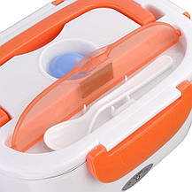 Ланч-бокс с подогревом VJTech YS-001 от сети 220В оранжевый, фото 2