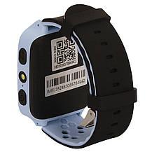 Детские умные часы с GPS UWatch M05 с камерой и фонариком синий, фото 3