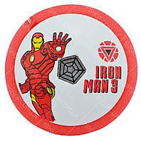 Футбольный мяч футболайзер для дома с подсветкой и музыкой Hoverball Iron Man