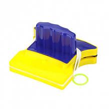 Магнитная щетка для мытья окон Double Faced Glass clean, фото 3