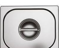 Крышка для гастроемкости Helios GD 2/3 из нержавеющей стали (7862/3)