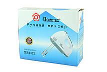 Ручний міксер Domotec MS 1333 7 швидкостей, фото 3