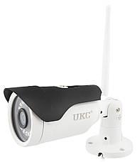 "Комплект видеонаблюдения беспроводной DVR KIT Full HD UKC CAD-1308 LCD 13.3"" WiFi 8ch набор на 8 камеры, фото 3"